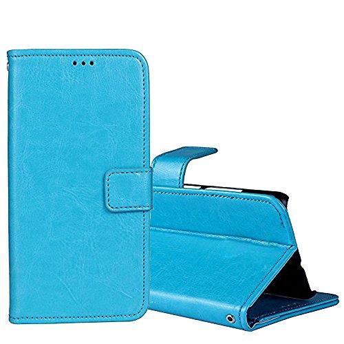 Leder Brieftasche Case für Blackview P2 Lite/P2 Leder Brieftasche Case, G-Hawk® Keine Verschmutzung TPU + PU Leder Hülle Flip Tasche Schutzhülle Case