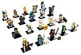 LEGO 71019 Alle 20 Ninjago Movie Minifiguren aus Sonderserie komplett mit Beipackzettel …