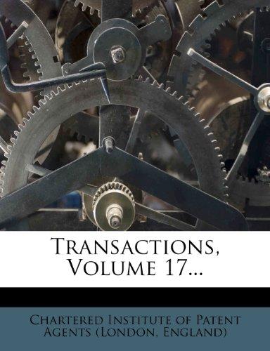 Transactions, Volume 17.