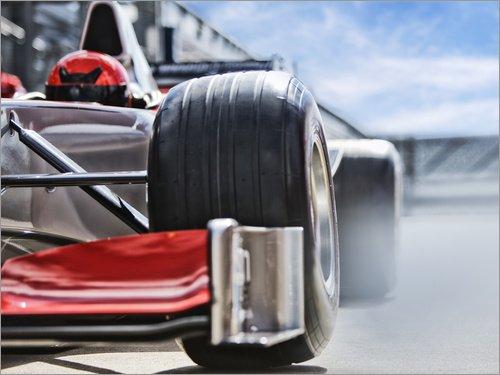 POSTERLOUNGE Forex 80 x 60 cm: F1 Bulide de Tom Merton/Fotofinder.com
