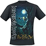 Iron Maiden Fear Of The Dark Camiseta Negro L