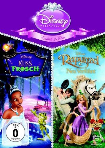 Küss den Frosch / Rapunzel - Neu verföhnt [2 DVDs] (Spiele Prinzessin Tiana)