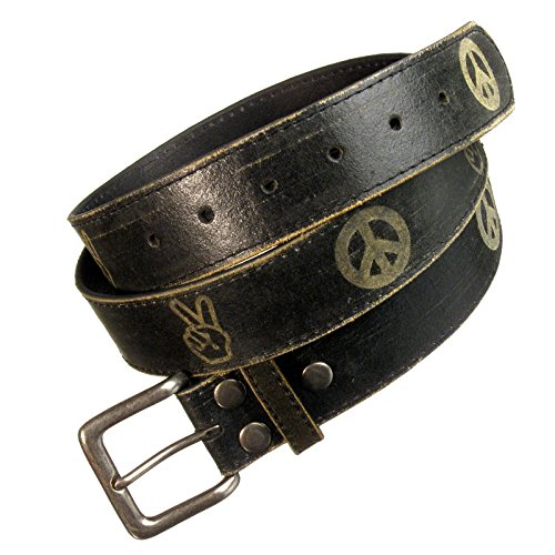 Black Belt with Peace & Victory branding