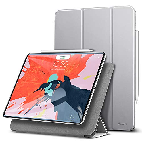 ESR Hülle kompatibel mit iPad Pro 11 Zoll 2018- [Apple Pencil kompatibel] Magnetisches Smart Case - Ultra Dünnes Cover mit Auto Sleep/Wake - Kratzfeste Schutzhülle für iPad Pro 11