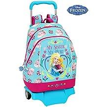 Frozen - Mochila grande con ruedas (Safta 611515160)
