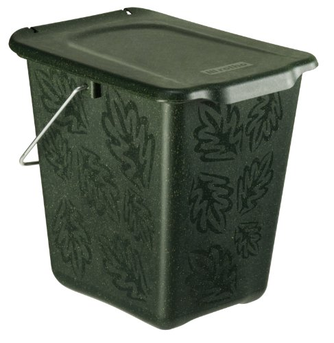 Para una vista más grande, haga clic en la imagen. Contenedor de compostaje Rotho Greenline 7 l, plástico...