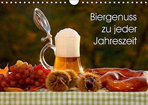 Biergenuss zu jeder Jahreszeit (Wandkalender 2018 DIN A4 quer): Stimmungsvolle Fotografien von Bier, entstanden in den verschiedenen Jahreszeiten. (Monatskalender, 14 Seiten ) (CALVENDO Lifestyle)