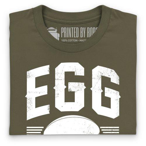 Egg Chaser Rugby T-Shirt, Herren Olivgrn