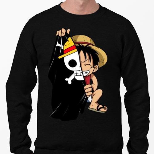 Positivos Sudaderas Jersey Pirate Flag - XL