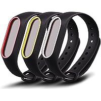 Awinner - braccialetto di ricambio colorato impermeabile per Xiaomi Mi Band 2 Smart Miband 2nd (Activity Tracker non incluso).