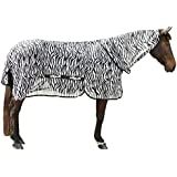 Kerbl Couverture Rugbe Zebra_155 Cm pour Cheval Taille XL