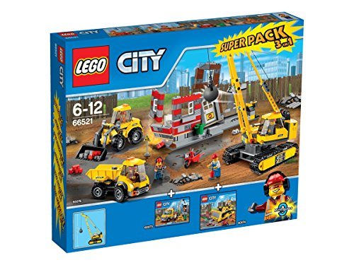 LEGO City 66521 - Abriss-Baustelle Value Pack