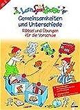 LernSpielZwerge Übungsheft: Gemeinsamkeiten und Unterschiede - Rätsel und Übungen für die Vorschule