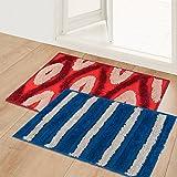 Best Indoor Mats - Story@Home Diana Premium 2 Pieces Cotton Blend Door Review