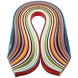 Zedtom 260 Pcs Bandes de papier Bricolage DIY - 26 couleurs