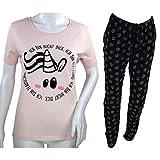 Pummel & Friends - Loungewear Set (rosa/schwarz) - Pummeleinhorn (flauschig) Größe XL