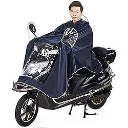 Chubasquero Impermeable Con Gran Capucha Para Moto Y Bicicleta Para Hombre Y Mujer