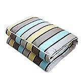 DIDIDD Cuscino da ufficio in cotone tessuto Feitian Trapunta di cuscini a doppio uso da un'auto sul cuscino del divano Poggiatesta pomeridiano, il climatizzatore Cixi,Buongiorno sole