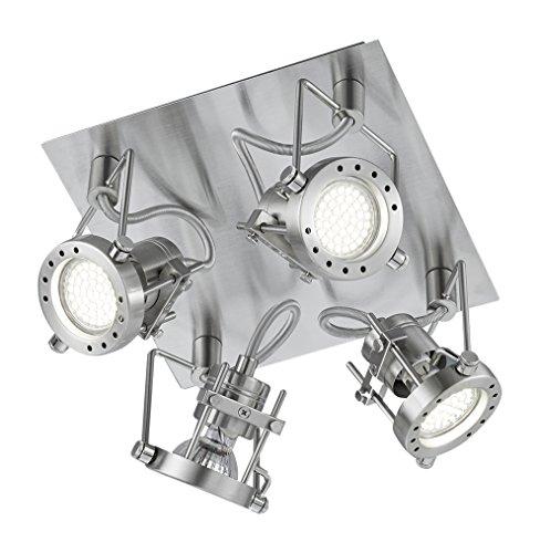 robot-di-soffitto-del-led-luce-in-piazza-4x-3-w-22-centimetri-x-22-cm-bianco-caldo