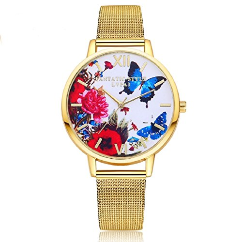 overdose-women-stainless-steel-band-colorful-butterfly-quartz-wrist-watch