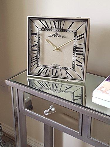 römischen Ziffern Moderne Kaminuhr quadratisch clock-30cm X 30cm