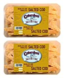 Colombos Cod Skinless & Boneless Salted Fish 250g (Pack of 2)