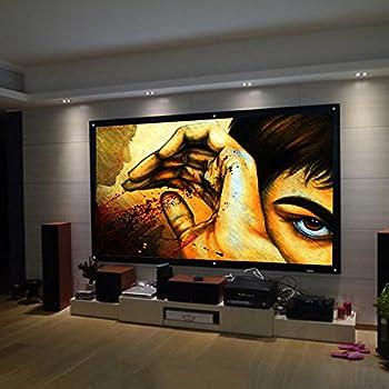 ecran de projection portable safekom 16 9 de 254 cm high tech. Black Bedroom Furniture Sets. Home Design Ideas