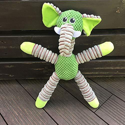 Yammucha Großes Bild Dog Molars beißende Sound Toy Fun (Color : Green)