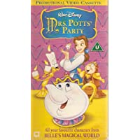 Mrs Potts Party (Disney) VHS