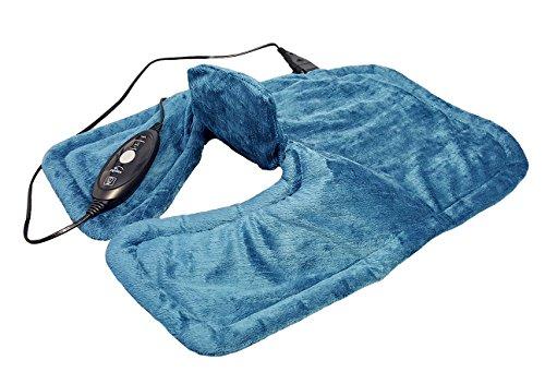Hydas Nacken/Schulter Heizkissen extra lang, exklusive Wärme bis hoch in den Nacken und Rücken