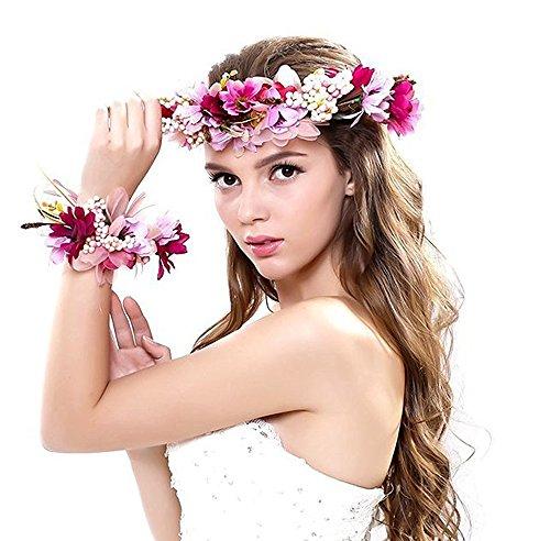 cheerlife-bohemia-stil-blumenkranz-blumenstirnband-blumenkrone-haarkranz-mit-floral-handgelenk-band-