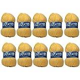 26 difusión 10 ovillos de lana para tejer Distrifil AZURITE 0030 barato-0030 100% acrílico