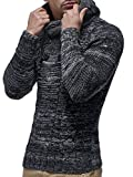 LEIF NELSON Mens Knitted Pullover 20227