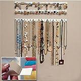 9 en 1 ganchos para colgar en la pared, organizador de joyería, collar, colgador, accesorios de tienda