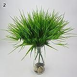 Kunstpflanze, künstlicher Busch, für Innen- und Außenbereiche, Büro, Garten, Dekoration, plastik, #2, Einheitsgröße