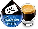 """TASSIMO Sachet 16 doses de café Carte Noire """"Expresso décafeiné"""""""