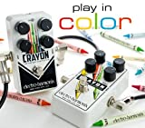 Electro Harmonix Crayon Full Range Overdrive Effects Pedal (76 & 69) Type 1 (76)