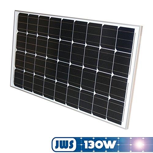 JWS - PANEL SOLAR MONOCRISTALINO 130W 12V IMPORTADO DE ALEMANIA