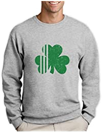 Green Turtle T-Shirts Saint Patrick's Day Irish Shamrock - Ireland's Clover Sweatshirt