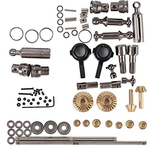 Bescita Upgrade Teile Silber Metall Antriebswelle für Sitz für 1/16 WPL B14 B24 B26 C14 C24 RC Crawler Auto Zubehör