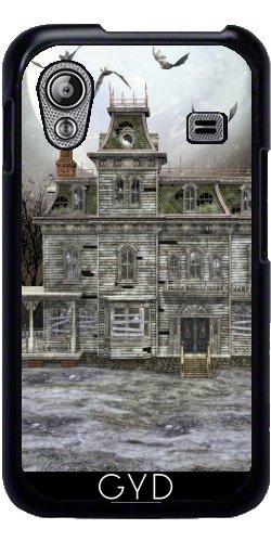 Hülle für Samsung Galaxy Ace (GT-S5830) - Haunted Halloween Haus 2 by (Für Haunted Halloween Häuser Beängstigend)