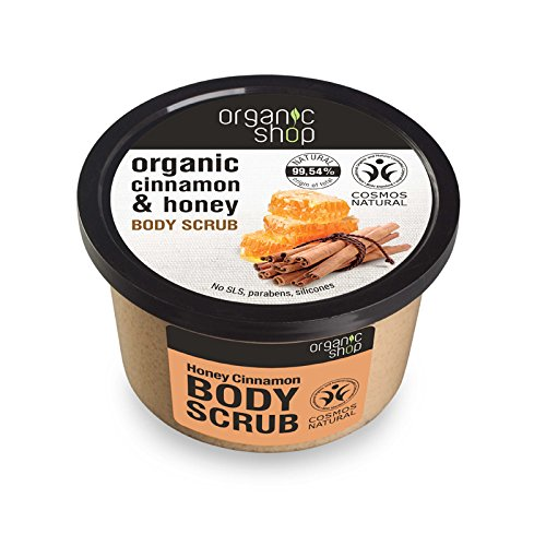 Organico Shop Honey Cinnamon scrub corpo, 250 ml