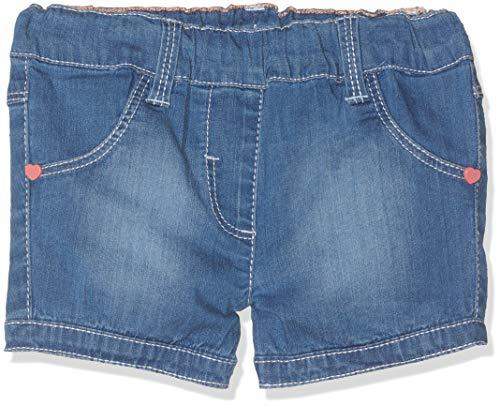 s.Oliver Junior Baby-Mädchen 56.899.72.0743 Shorts, Blau (Blue Denim Stretch 54Z1), (Herstellergröße:80/REG)