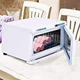 COSTWAY 16L UV Hot Facial Towel Cabinet Sterilizer Disinfection Warmer Tool Beauty (16L)