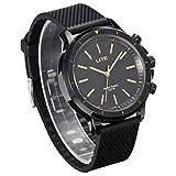 Orologio Intelligente Impermeabile, GOKOO Lite Smartwatch SOS Orologio Al Quarzo per Donna e Uomo con Camera Remota,Contapassi,Contacalorie per Android e IOS Phones