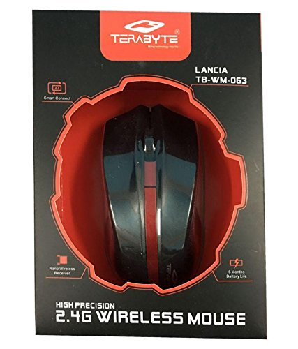 bf349292df6 72% OFF on Terabyte Wireless Mouse (Black) Buy Terabyte Wireless ...