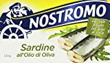Nostromo - Sardine, all'Olio di Oliva - 10 pezzi da 120 g [1200 g]