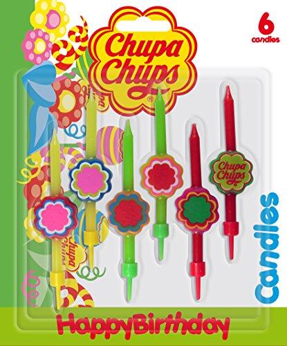 Cereria de Giorgio ch000056velas Chupa Chups con FIORELLINO y soporte