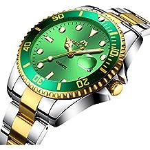 Orologio sfondo verde