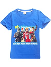 SERAPHY Camiseta de Manga Corta de Algodón Fortnite Camisetas Niños Maravillosos Regalos ...